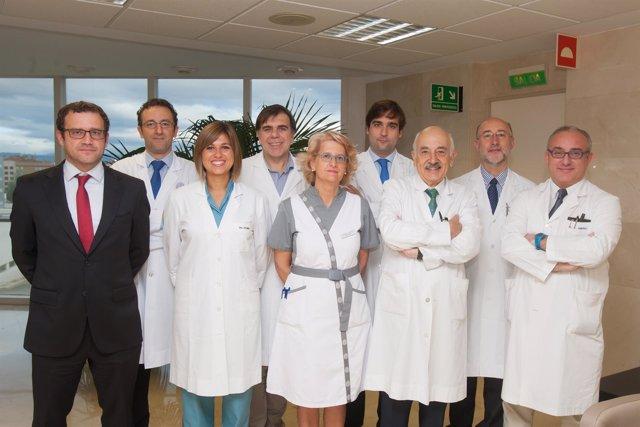 Investigadores de la Clínica Universidad de Navarra.