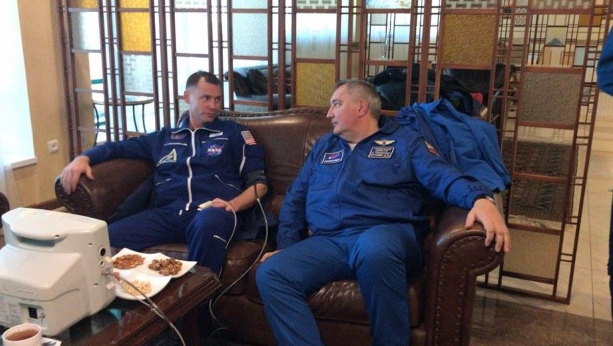 Los tripulantes de una Soyuz, ilesos tras un aterrizaje de emergencia