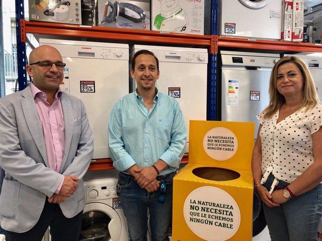 Alcalá de Guadaíra crea conciencia del reciclaje de pequeños electrodomésticos