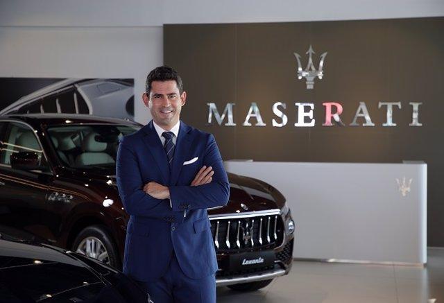 Dan García, nuevo director Comercial y Desarrollo de Red de Maserati Iberia