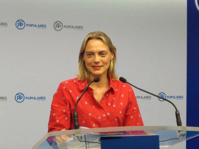 Foto de archivo de Raquel González, presidenta del PP de Bizkaia