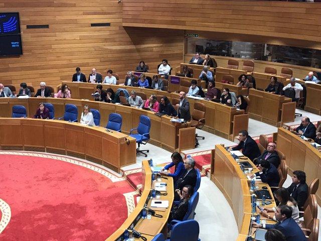 Unanimidad en el debate de política general en el Parlamento de Galiia