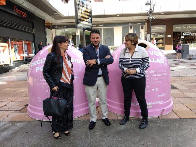 Presentación campaña recogida de vidrio solidaria en Oviedo