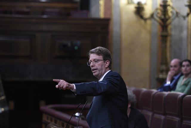Ple al Congrés dels Diputats sobre els objectius de dèficit i el sostre