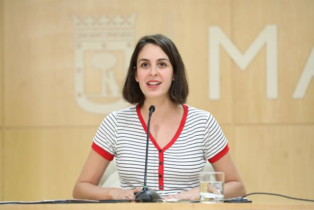 La portavoz del Ayuntamiento de Madrid, Rita Maestre