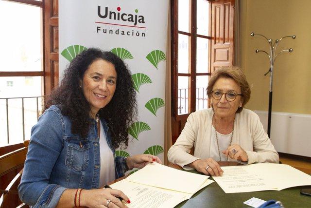 Acuerdo de patrocinio de Unicaja con el Festival de Otoño