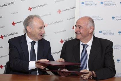 Cruz Roja y el IIAS firman un convenio para difundir la cultura de la hidratación
