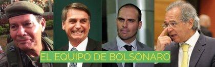 Los 3 hombres clave de Bolsonaro