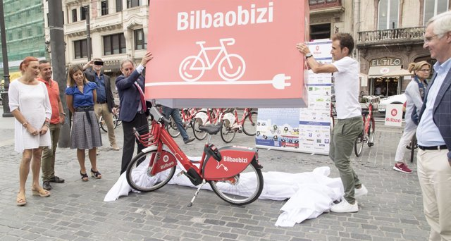 Nueva bicicleta eléctrica de Bilbon Bizi