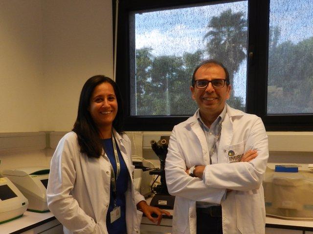 Los investigadores Mª Jesús Vázquez y Manuel Tena-Sempere