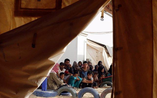 Los habitantes del campamento de desplazados de Rukban se enfrentan al riesgo de 'una hambruna real'