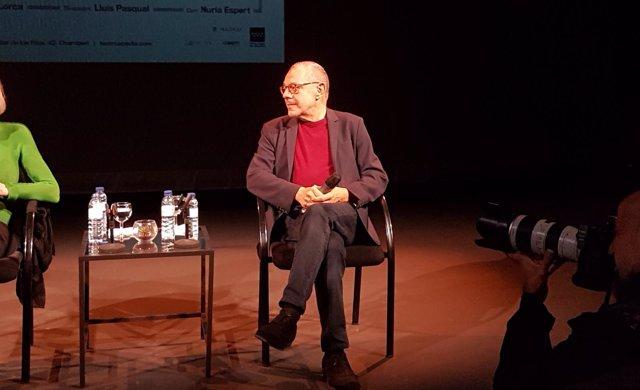 Director Lluís Pasqual durante la presentación 'Romancero gitano'