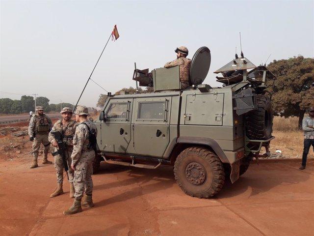 Militares españoles en Malí