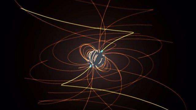Simulación produce un 'pulsar de bolsillo'