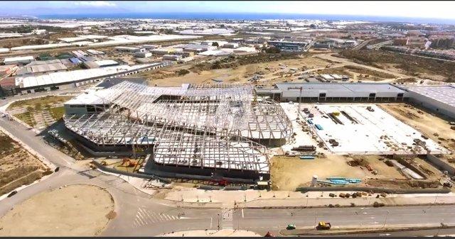 Obras del Centro Comercial Torrecárdenas