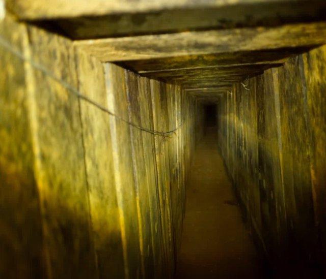Túnel de Hamás destruido por Israel