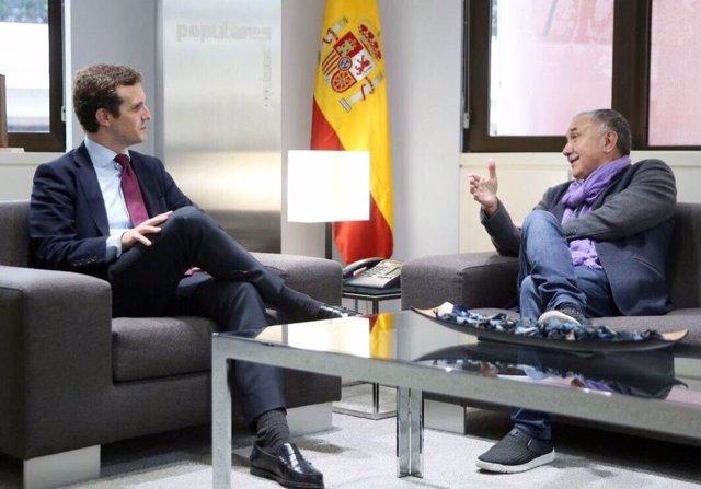 Casado con el secretario general de UGT, Pepe Álvarez