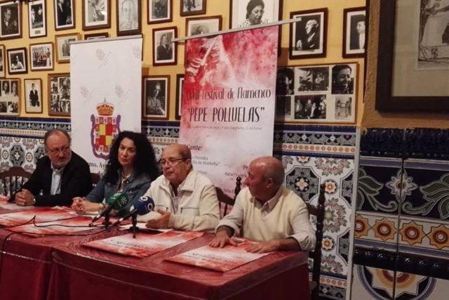 Presentación del XXVIII Festival Pepe Polluelas