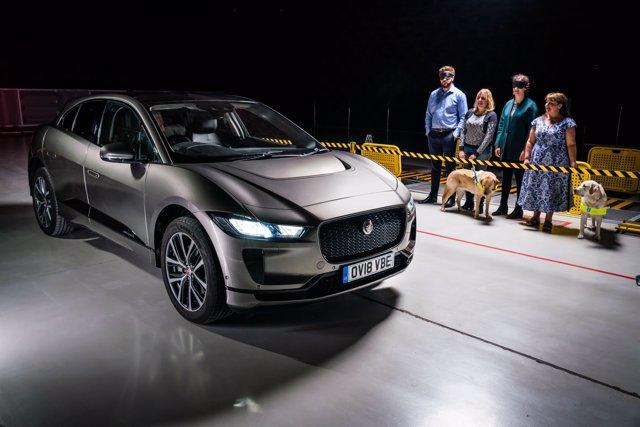 Prueba del nuevo ruido del Jaguar I-Pace