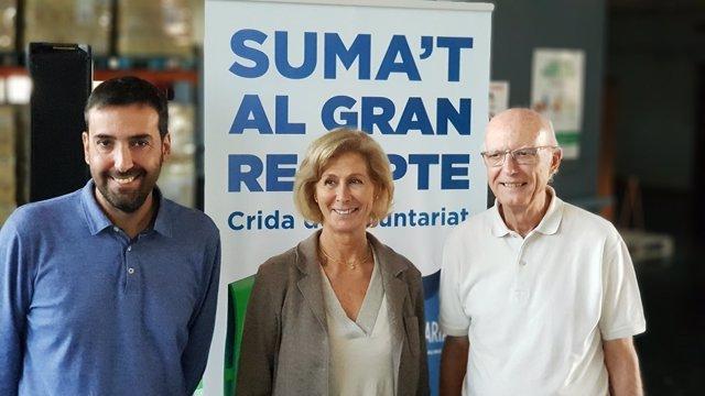 Oriol Berenguer, Roser Brutau y Lluís Fatjó-Vilas