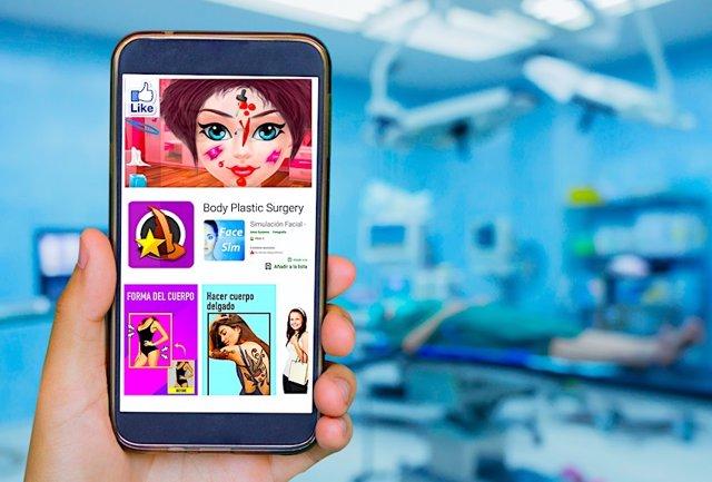 Aplicaciones móviles que permiten mejorar el aspecto facial