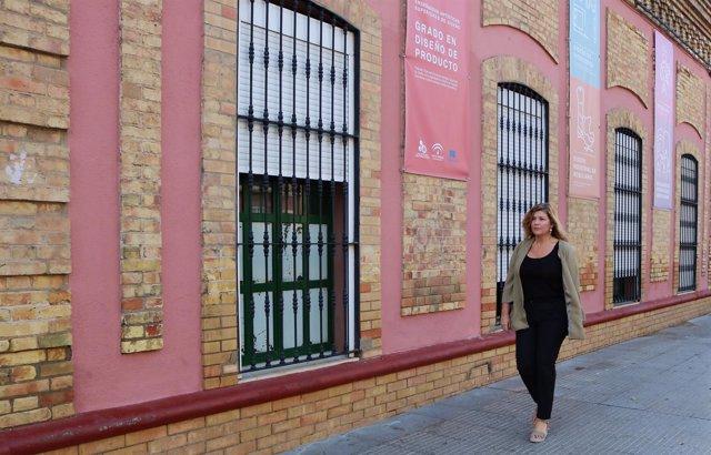La viceportavoz del PP en el Ayuntamiento de Huelva, Berta Centeno.