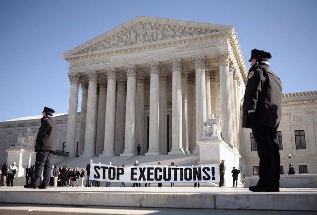 Protestas en Washington contra la pena de muerte