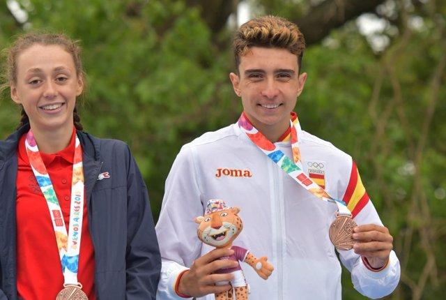 El triatleta andaluz Igor Bellido