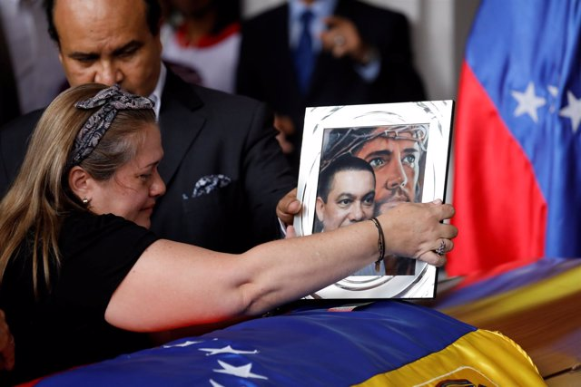 Funeral por la  muerte del concejal opositor Fernando Albán