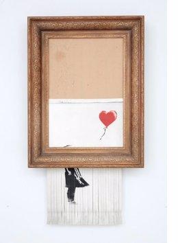 Girl with Balloon, de Banksy