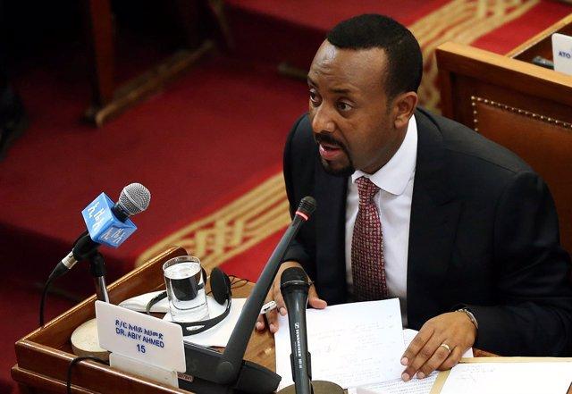 Abiy Ahmed, primer ministro de Etiopía
