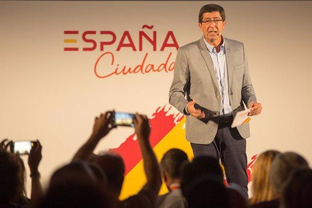 Juan Marín, en la Convención 'España Ciudadana' de Cs