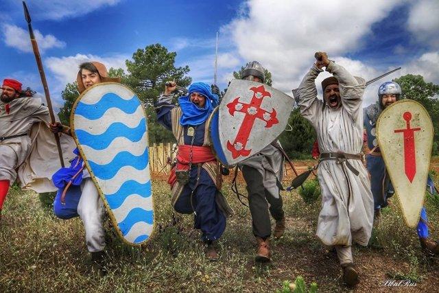 Recreación de la Batalla de Navas de Tolosa