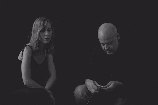 La cantante Ana Franco y el compositor Sergio de la Fuente