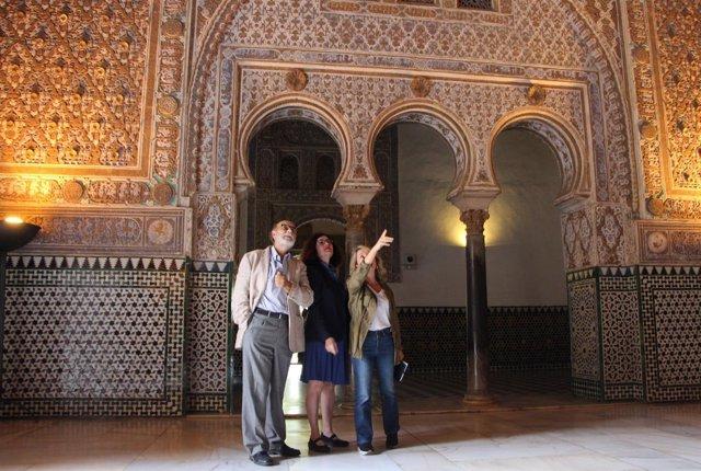 El Alcázar acometerá obras en las yeserías del Palacio Mudéjar