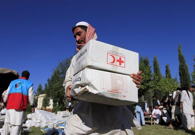 Ayuda de la Federación Internacional de la Cruz Roja y la Media Luna Roja