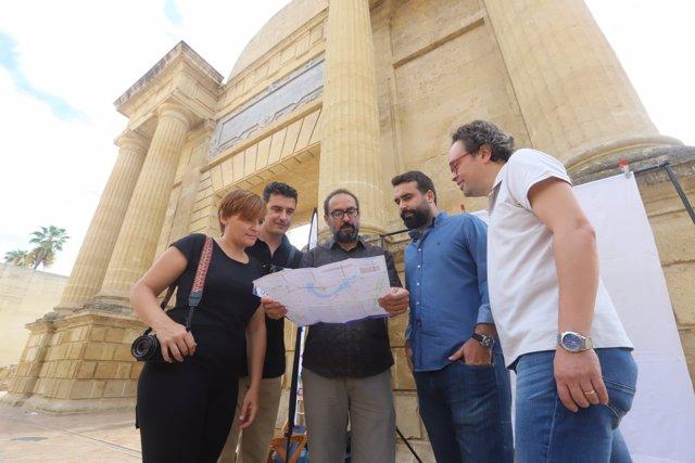Coordinador del IAJ, Alberto Mayoral en el Festival Eutopía