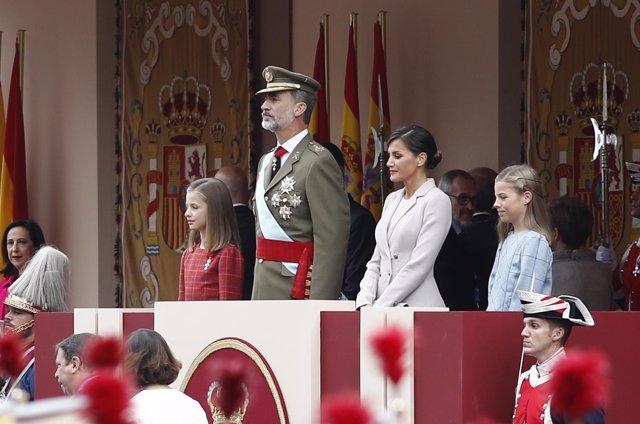 Desfile del 12 de Octubre en Madrid, Día de la Hispanidad