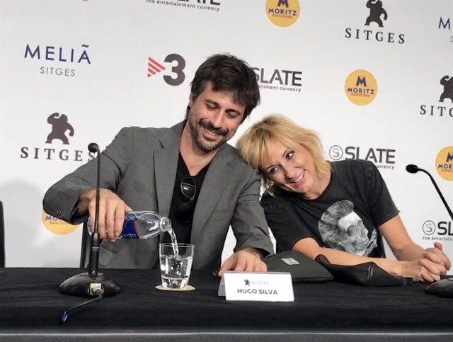 Hugo Silva y Nathalie Poza