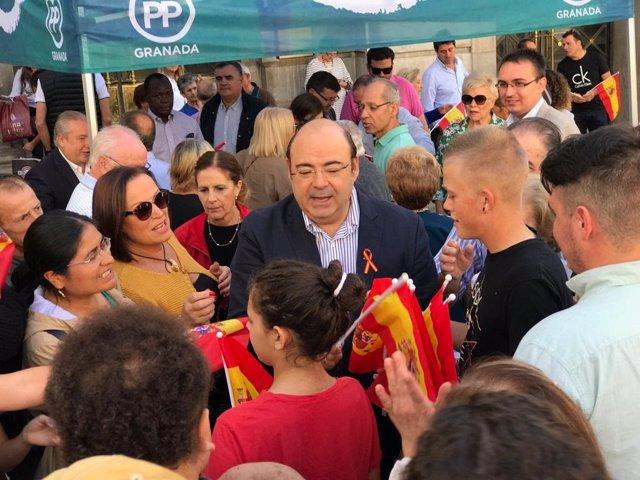 Sebastián Pérez (PP) candidato a Alcaldía de Granada