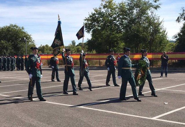 Acto conmemorativo del Día de la Guardia Civil