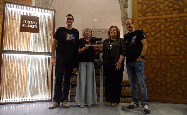 Alicia Giménez Barlett recoge el IV Premio Granada Noir