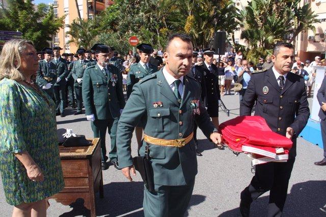 Minuto de silencio en Almuñécar por las víctimas de la tormente en Mallorca