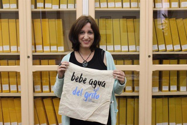La concejal de Medio Ambiente y Sostenibilidad, María Sánchez. 12-10-18