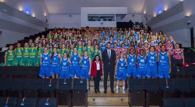 Liga DIA, presentación baloncesto femenino