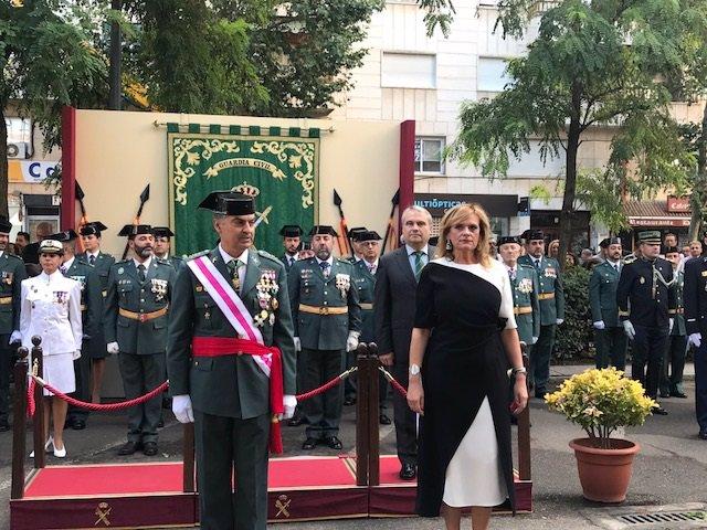 García Seco en la Patrona de la Guardia Civil