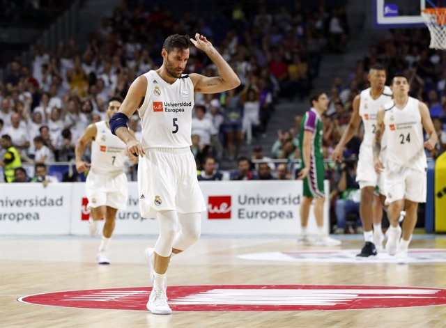 El alero del Real Madrid Rudy Fernández
