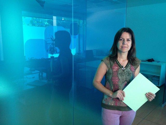La parlamentaria andaluza del PP Ana Vanesa García