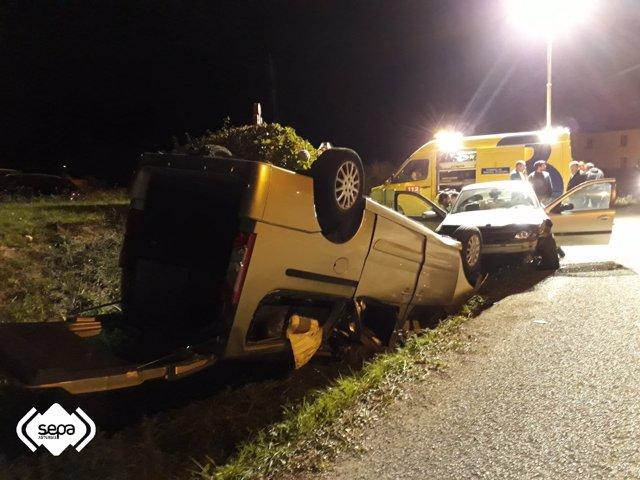 Accidente de tráfico en El Franco