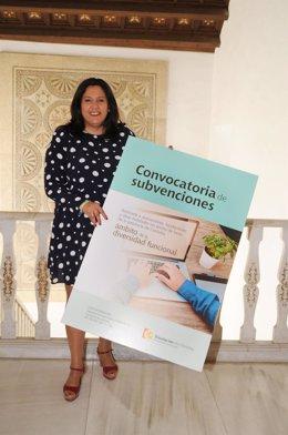 Delegada de Empleo y Protección Civil Diputación, Dolores Amo